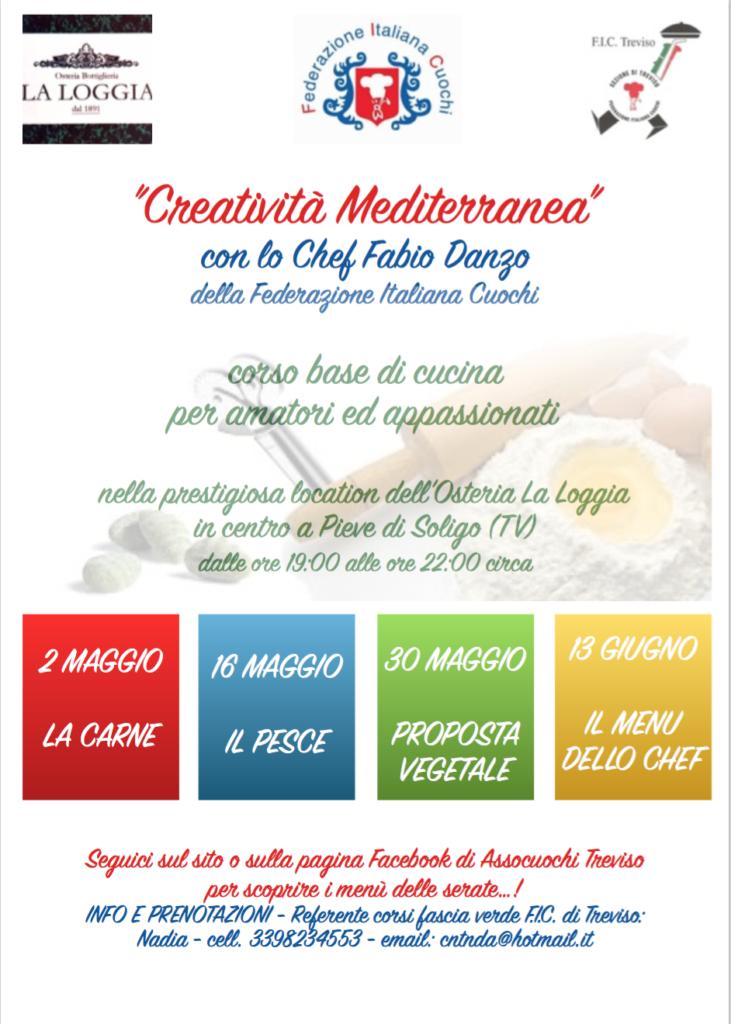 corsi di cucina - fascia verde -assocuochi treviso - Corso Cucina Treviso