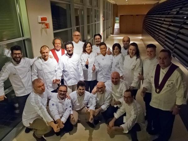 ospiti importanti e berrette bianche di Treviso