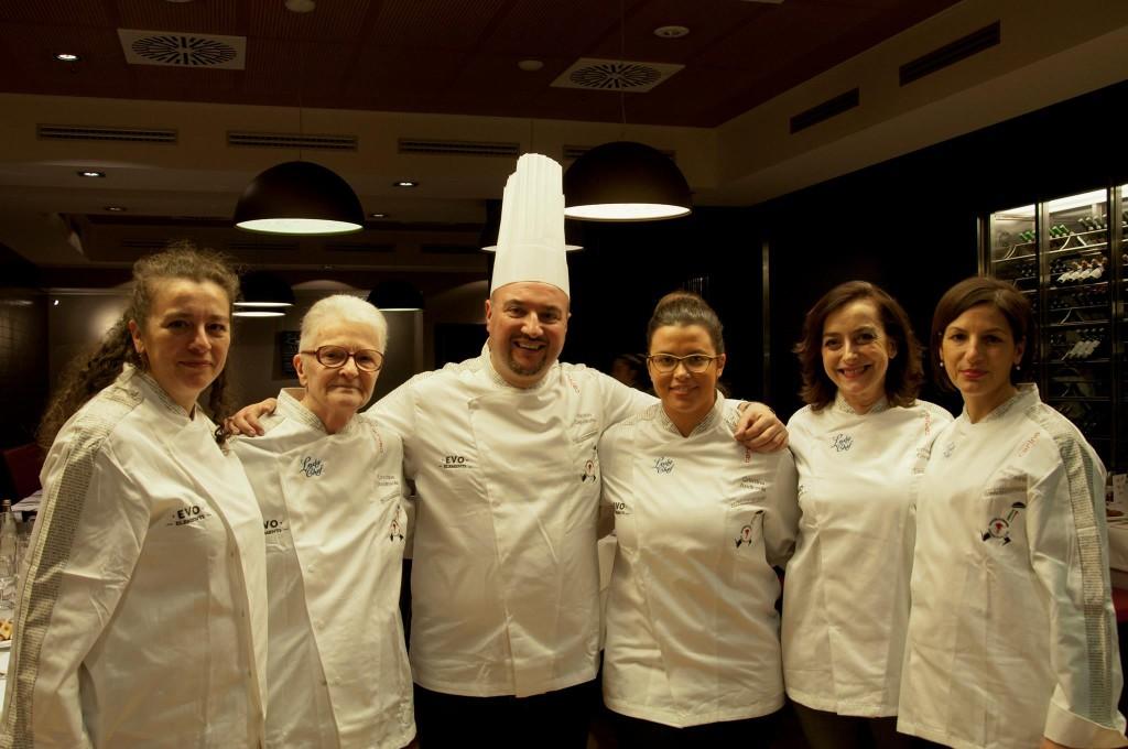Lady Chef con il Presidente Assocuochi Treviso